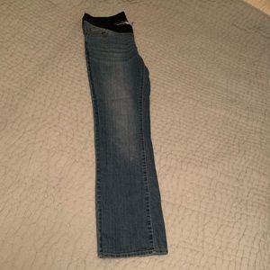 Maternity jeans EUC